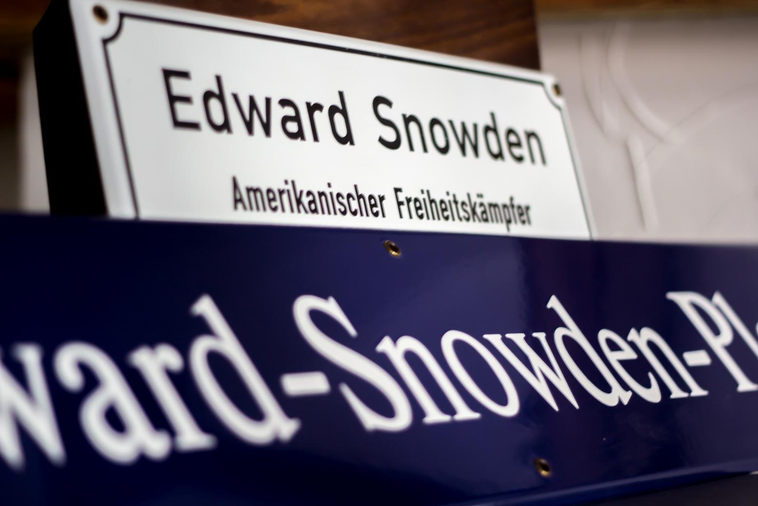 Edward-Snowden-Platz-Dresden