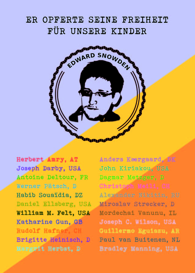 Edward Snowden Platz Dresden