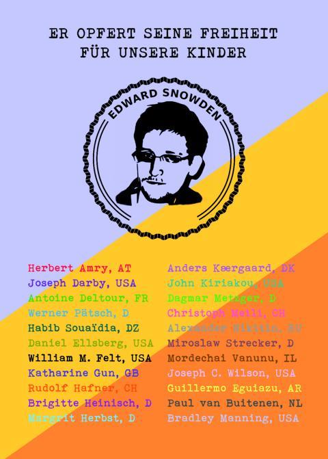 Geburtstag Edward Snowden Platz