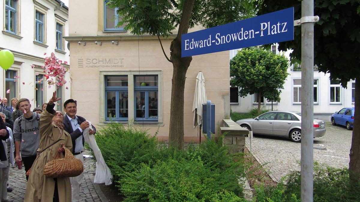 Edward-Snowden-Platz Dresden