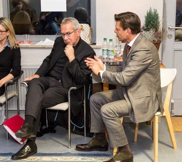 Markwart Faussner und Wolfgang Nešković
